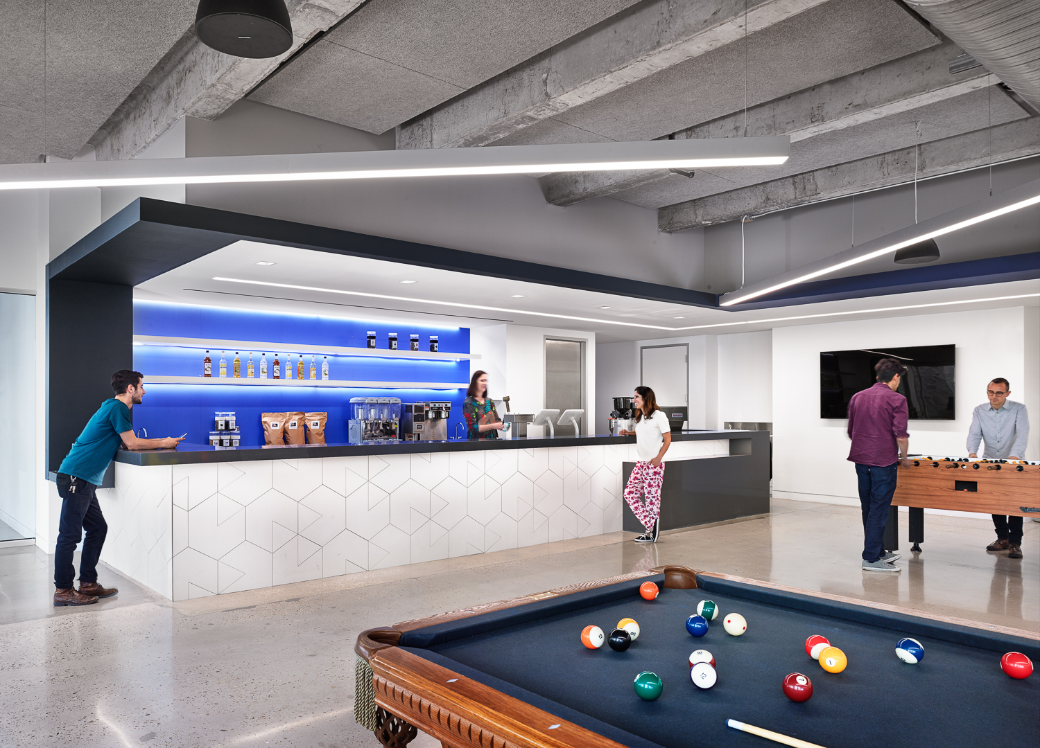 Another look inside indeed s new austin headquarters for Office design game