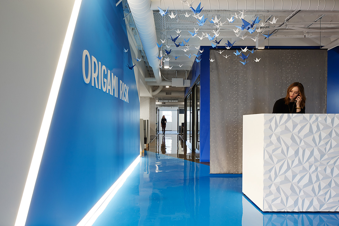 A Look Inside Origami Risk's New Chicago Headquarters