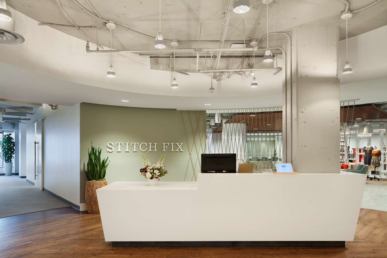 A Quick Look Inside Stitch Fix S Fashionable Austin Office