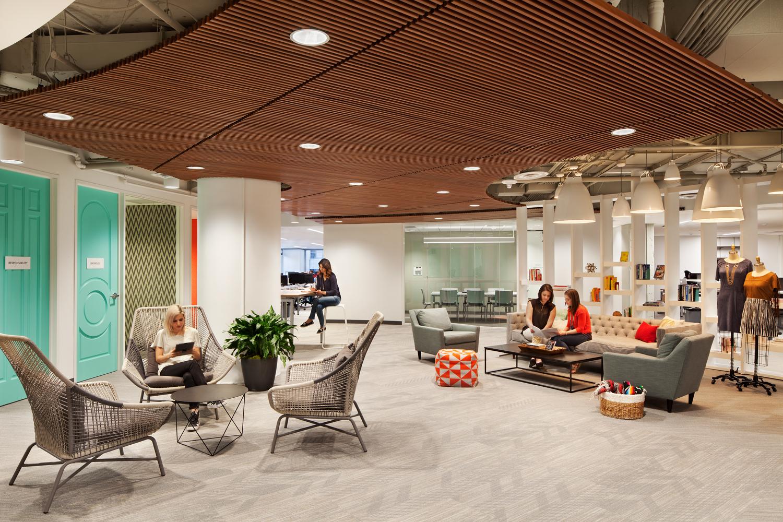 Reception Breakout Space Stitch Fix Austin Office 3