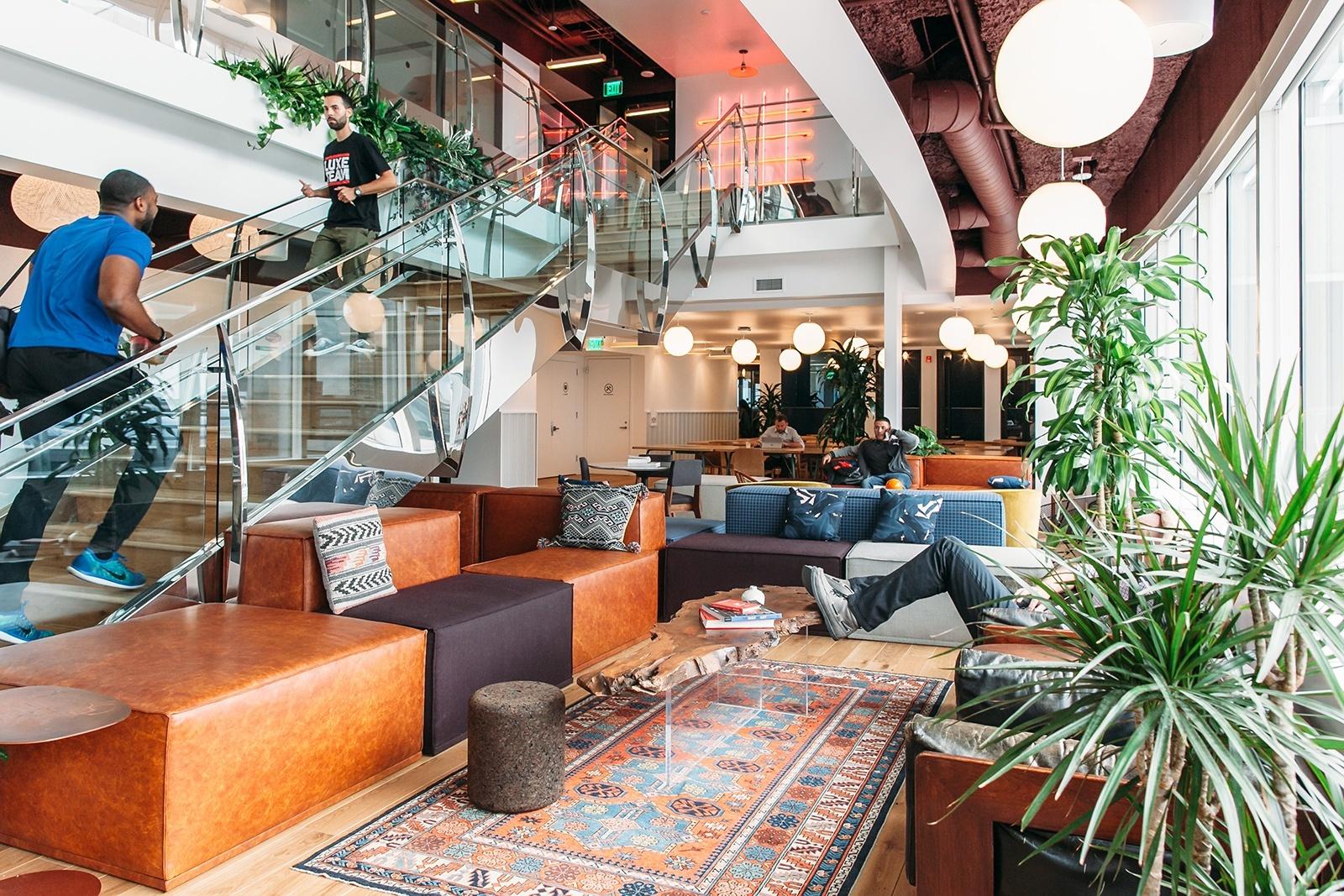 Inside wework gas tower officelovin 39 - Interior design companies los angeles ...