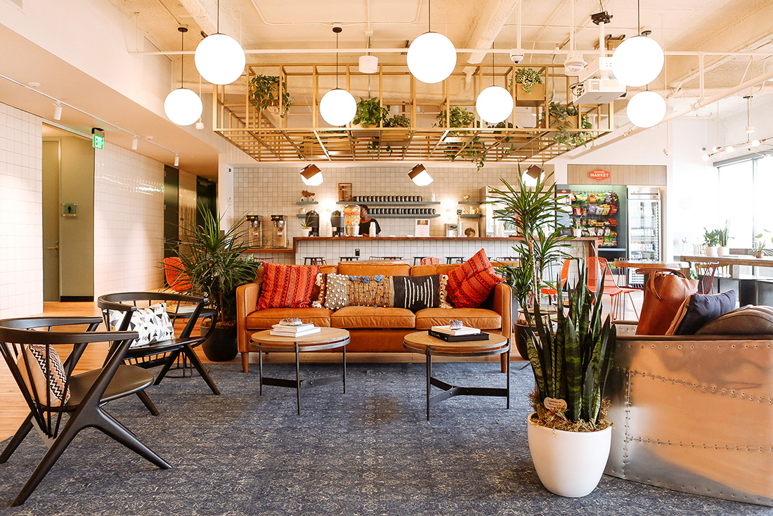 An Inside Look at WeWork's Pasadena Coworking Space