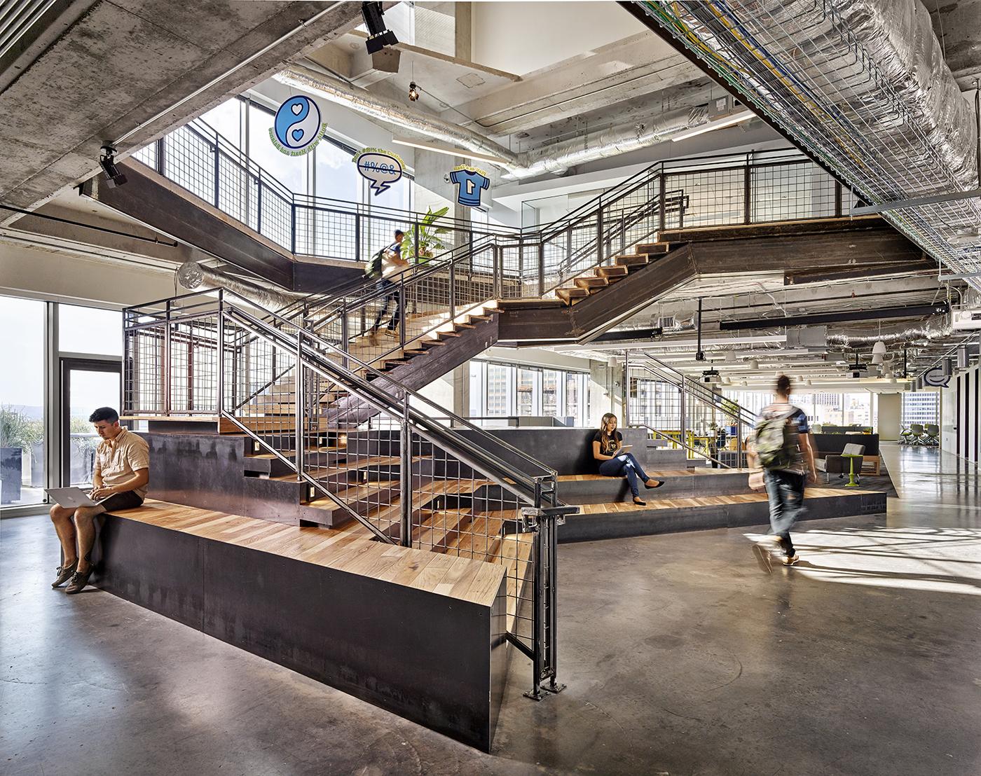 A Tour Of Atlassian S Stylish Austin Office Officelovin