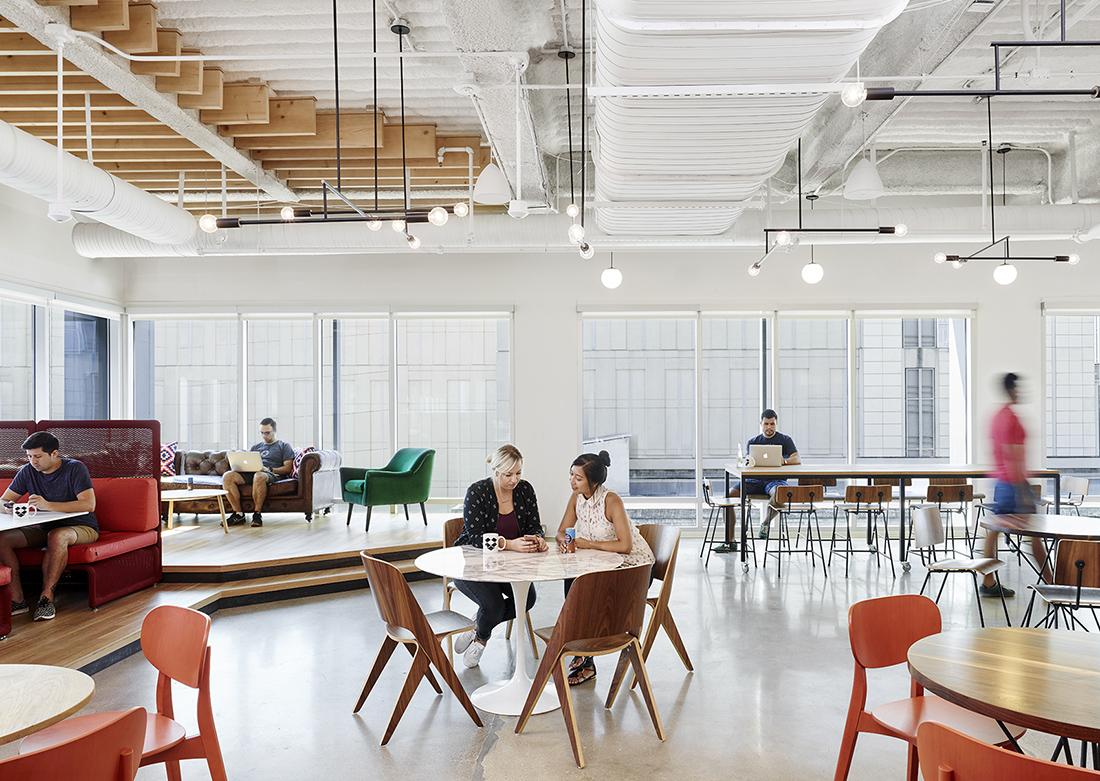 Uber Portland Oregon >> A Look Inside Dropbox's Super Cool Austin Office - Officelovin