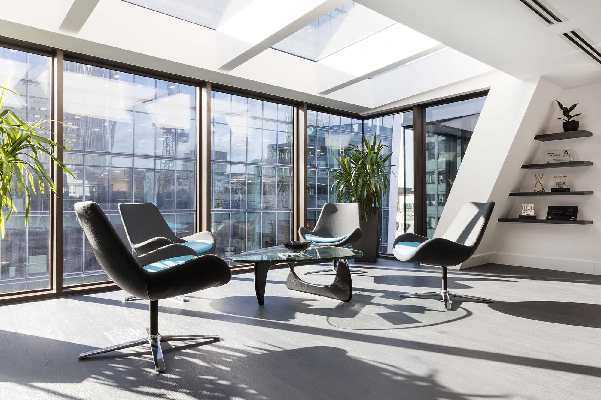 A Peek Inside Nicoll Curtin's New London Office