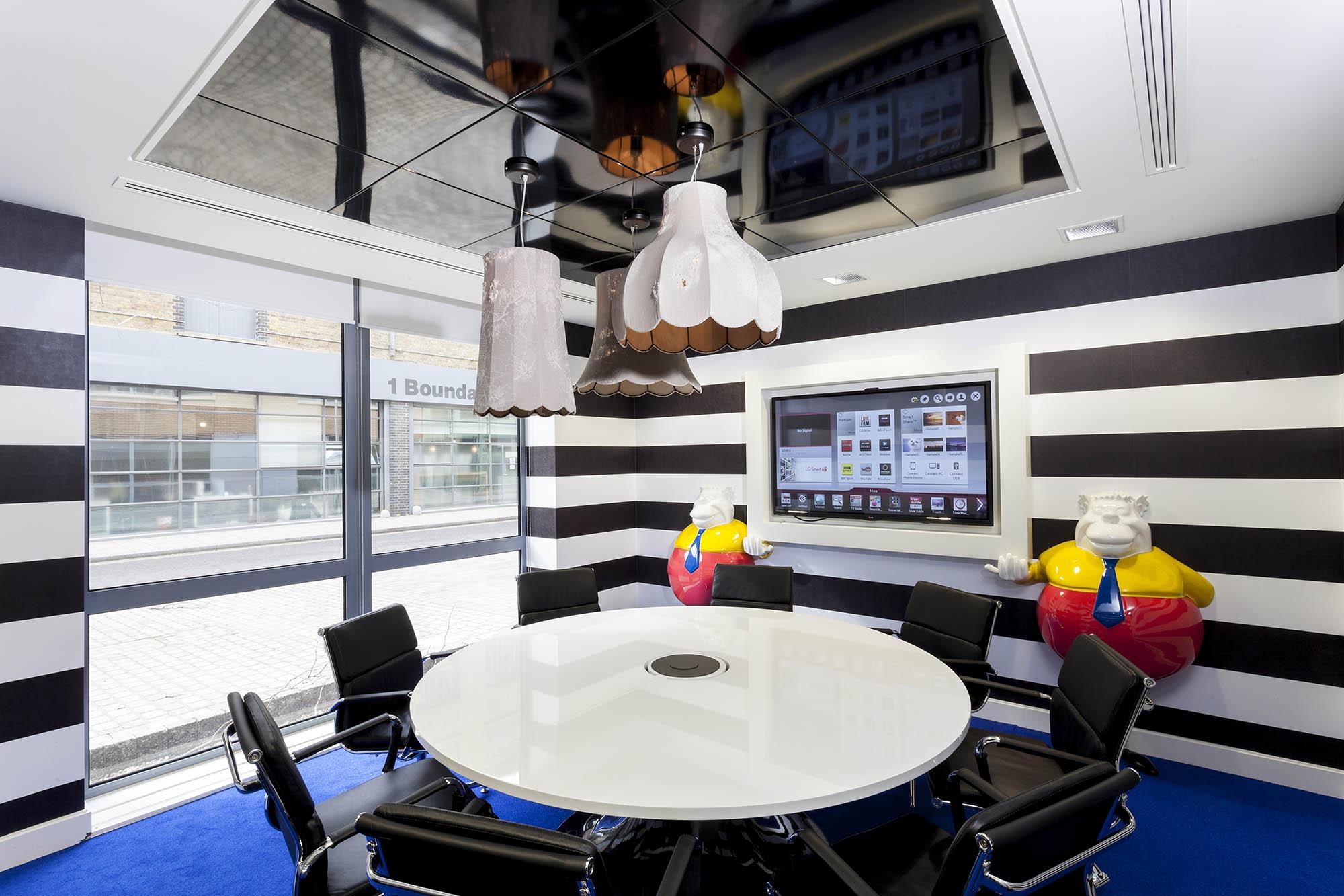 A Peek Inside Office Space In Town