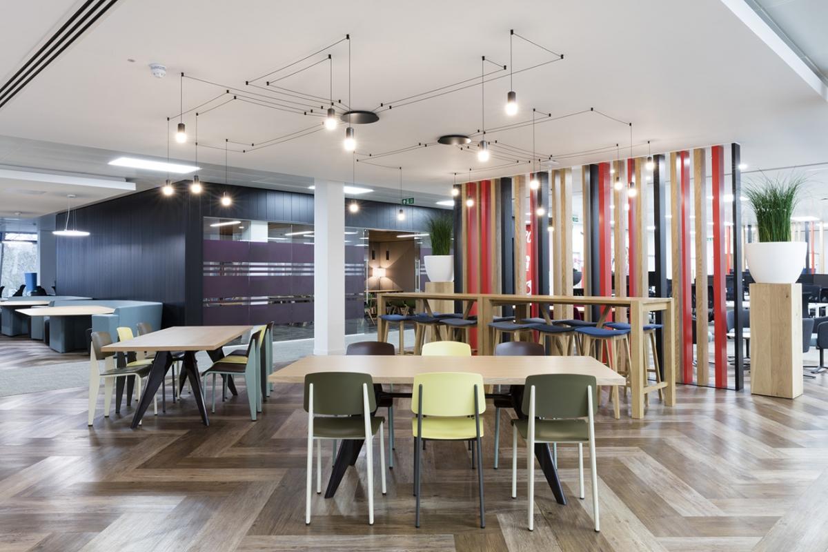Used Work Vans >> A Look Inside Vodafone's Cool Bracknell Office - Officelovin'