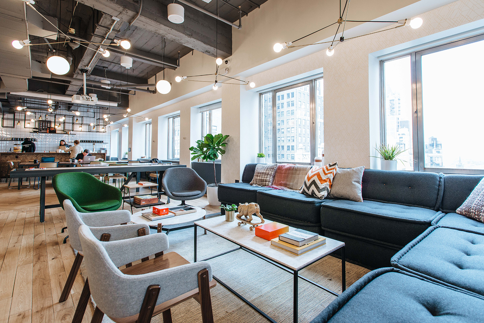 A tour of wework brooklyn heights officelovin 39 for Design space co