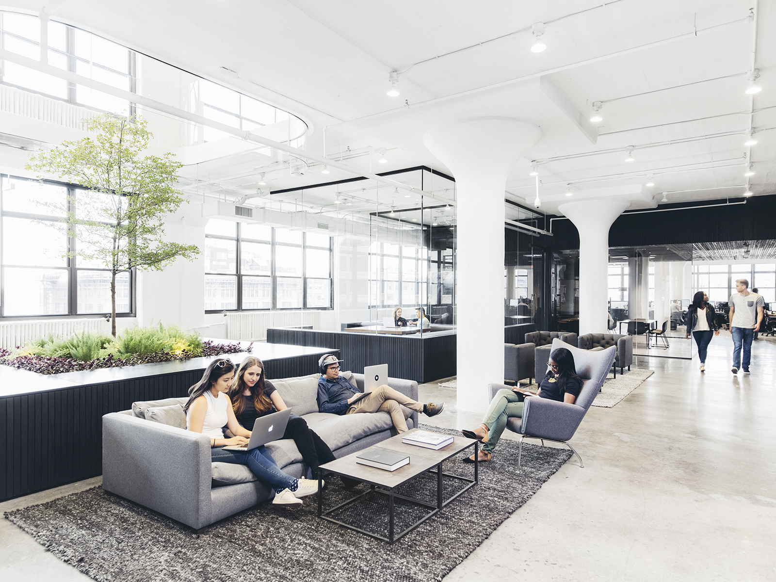 inside squarespace�s new super cool nyc headquarters
