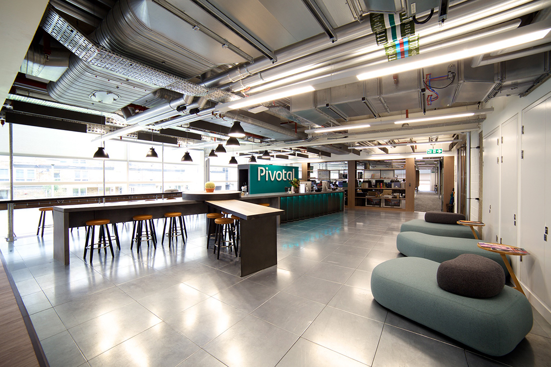 Inside Pivotal S New London Office Officelovin