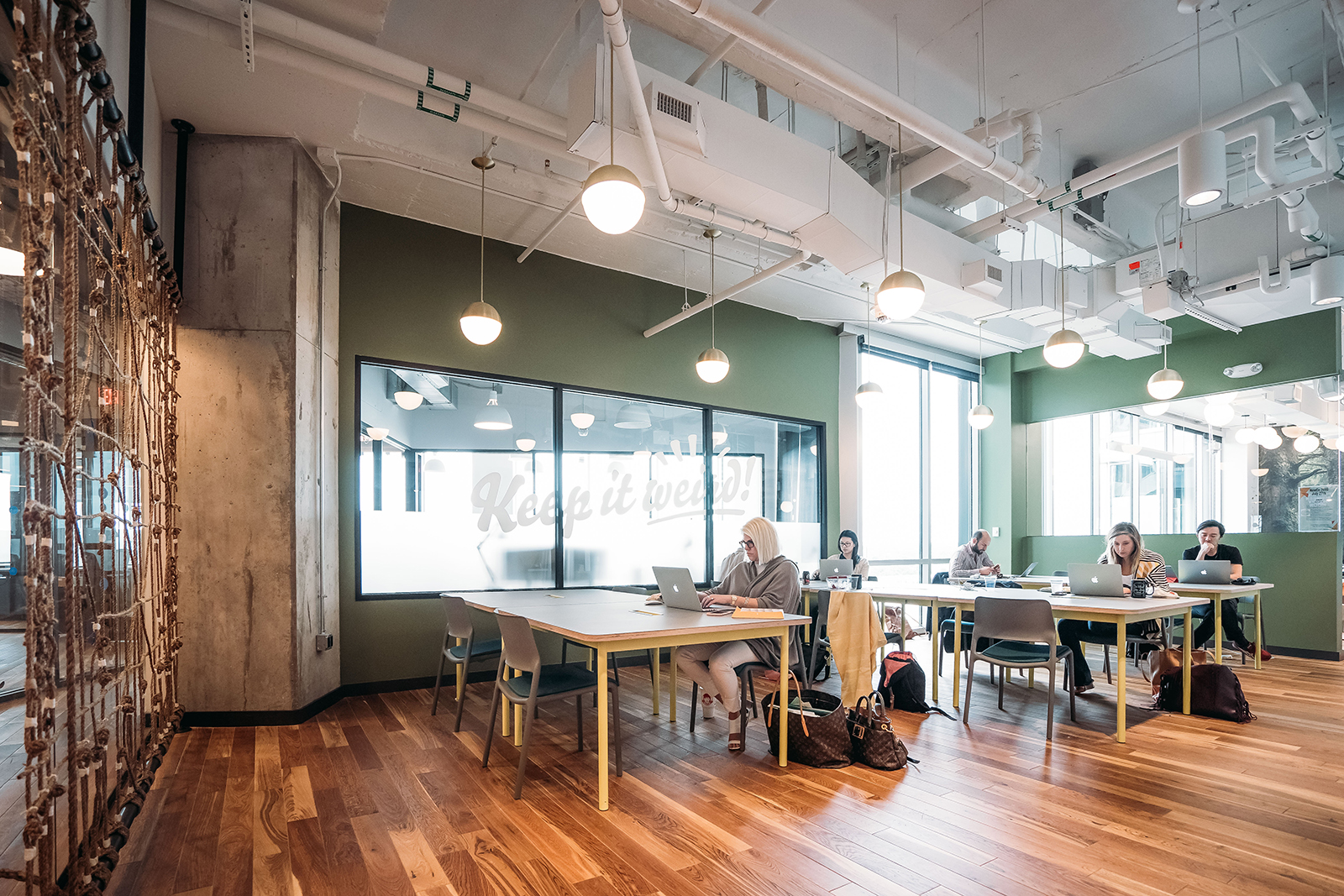 A Tour Of Wework University Park Officelovin