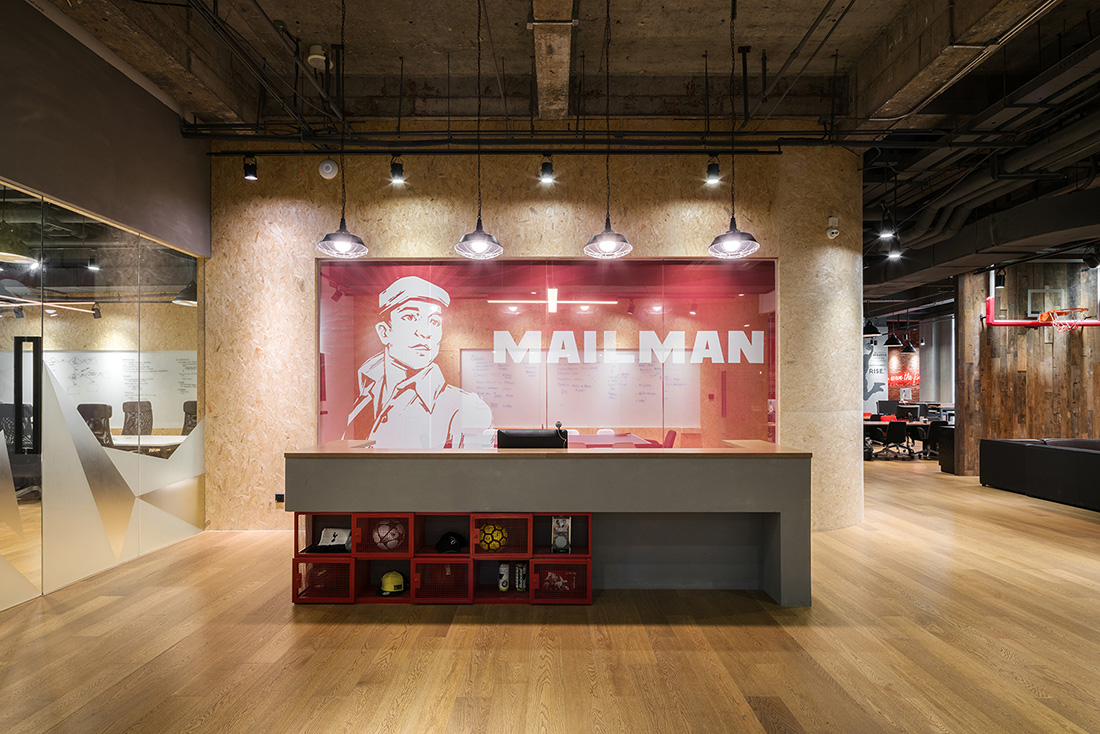 A Tour of Mailman's Cool Shanghai Office