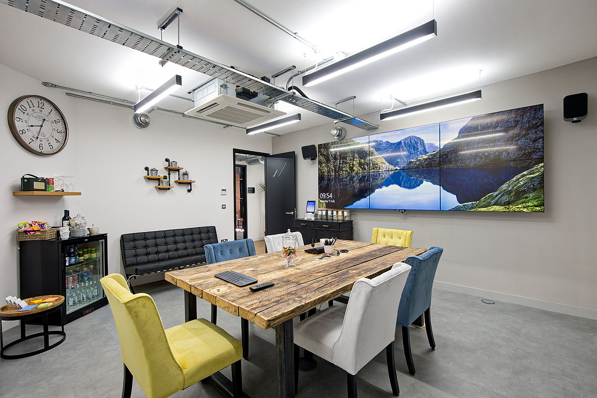 Interactive Office Design A Quick Look Inside Spotless Interactive's New London Office .