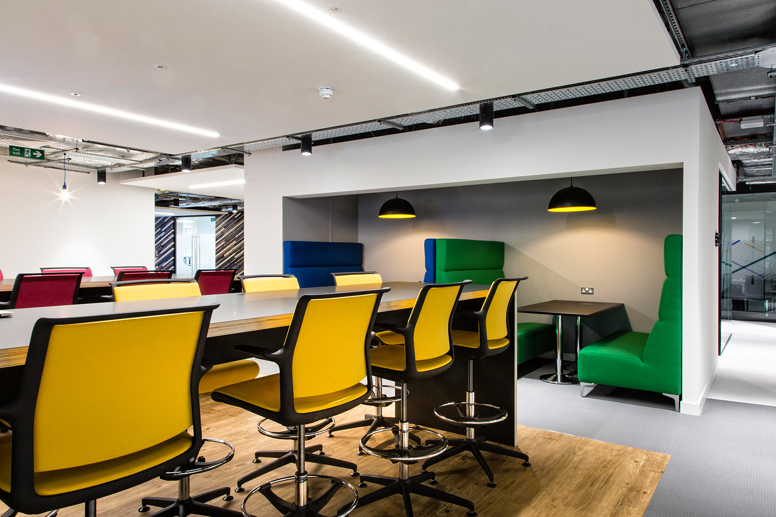 Inside Career Builders New Sleek London Office