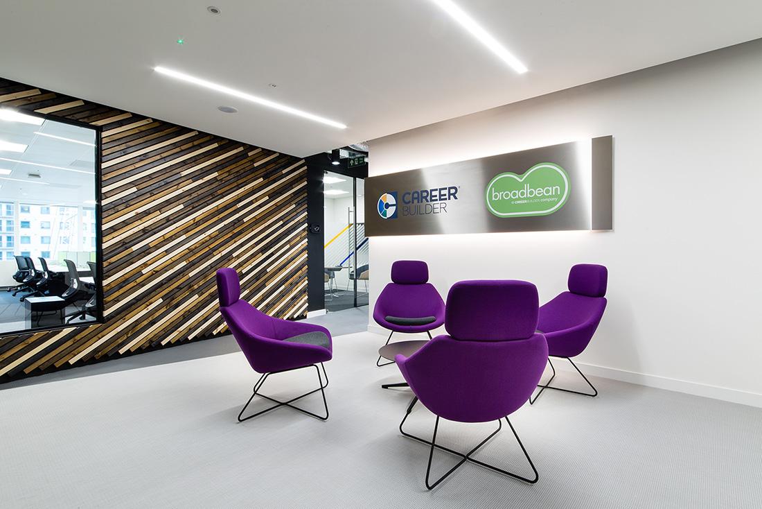 Inside Career Builder's New Sleek London Office