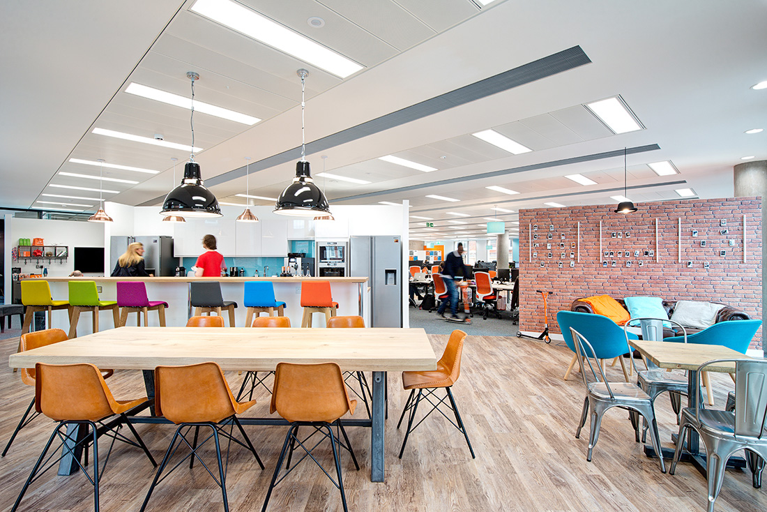 Inside Currency Cloud's Modern New London Office