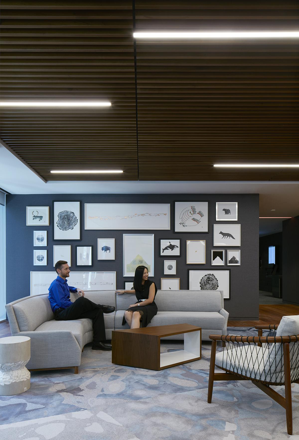A Tour Of Deloitte Rsquo S New Sleek Toronto Office Officelovin