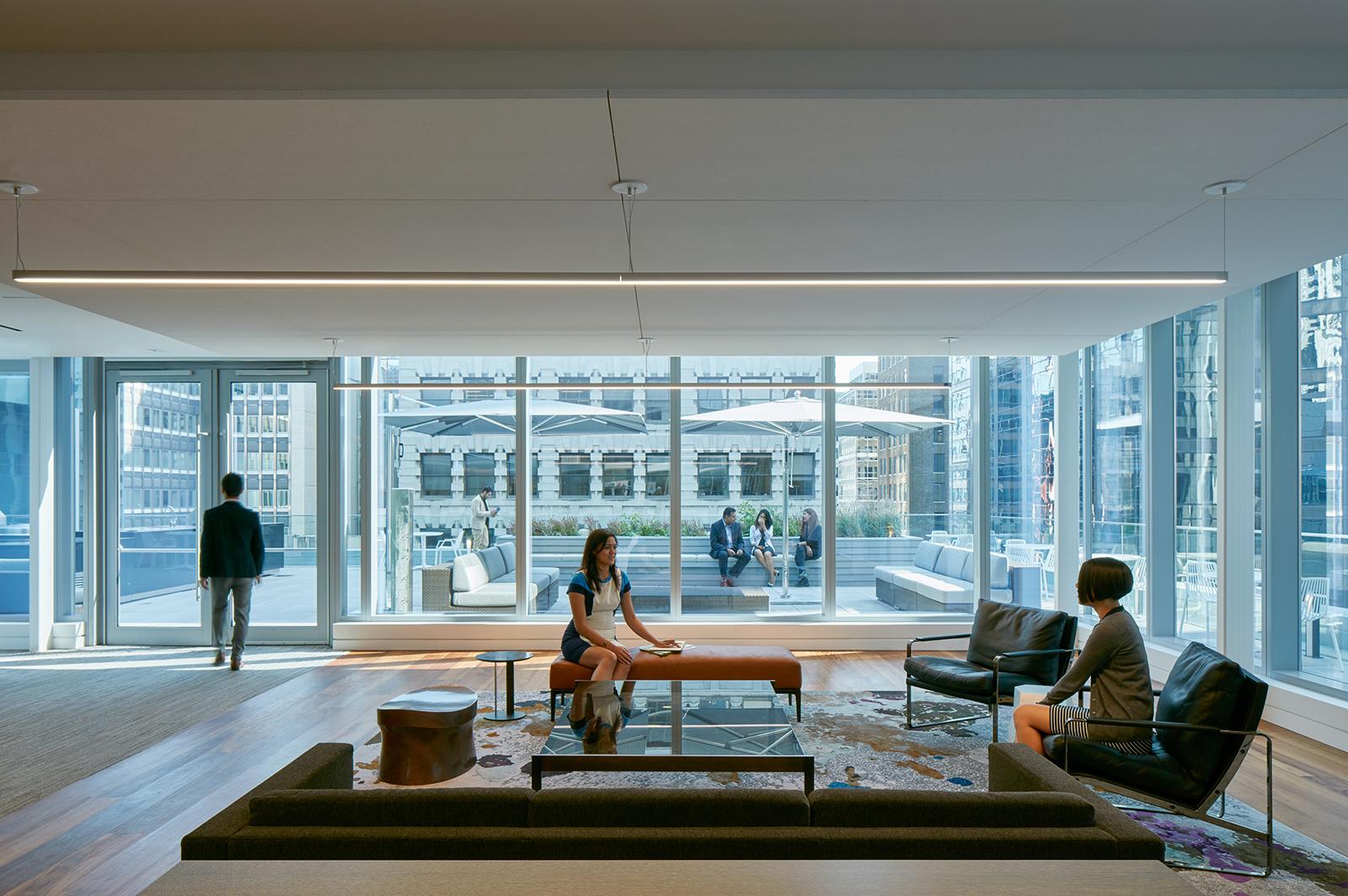 a tour of deloitte u2019s new sleek toronto office