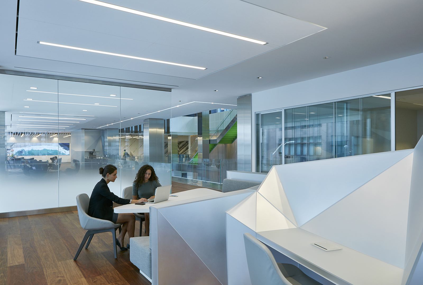 A tour of deloitte s new sleek toronto office officelovin 39 for Office pictures