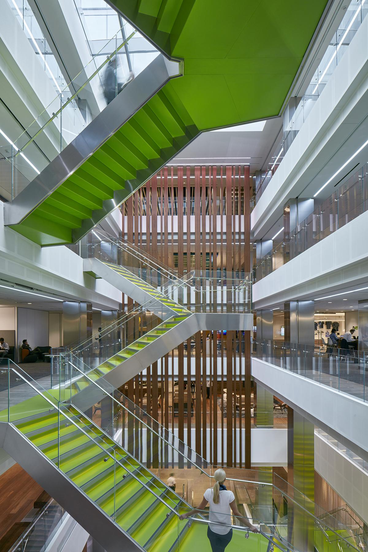 A Tour Of Deloitte S New Sleek Toronto Office Officelovin