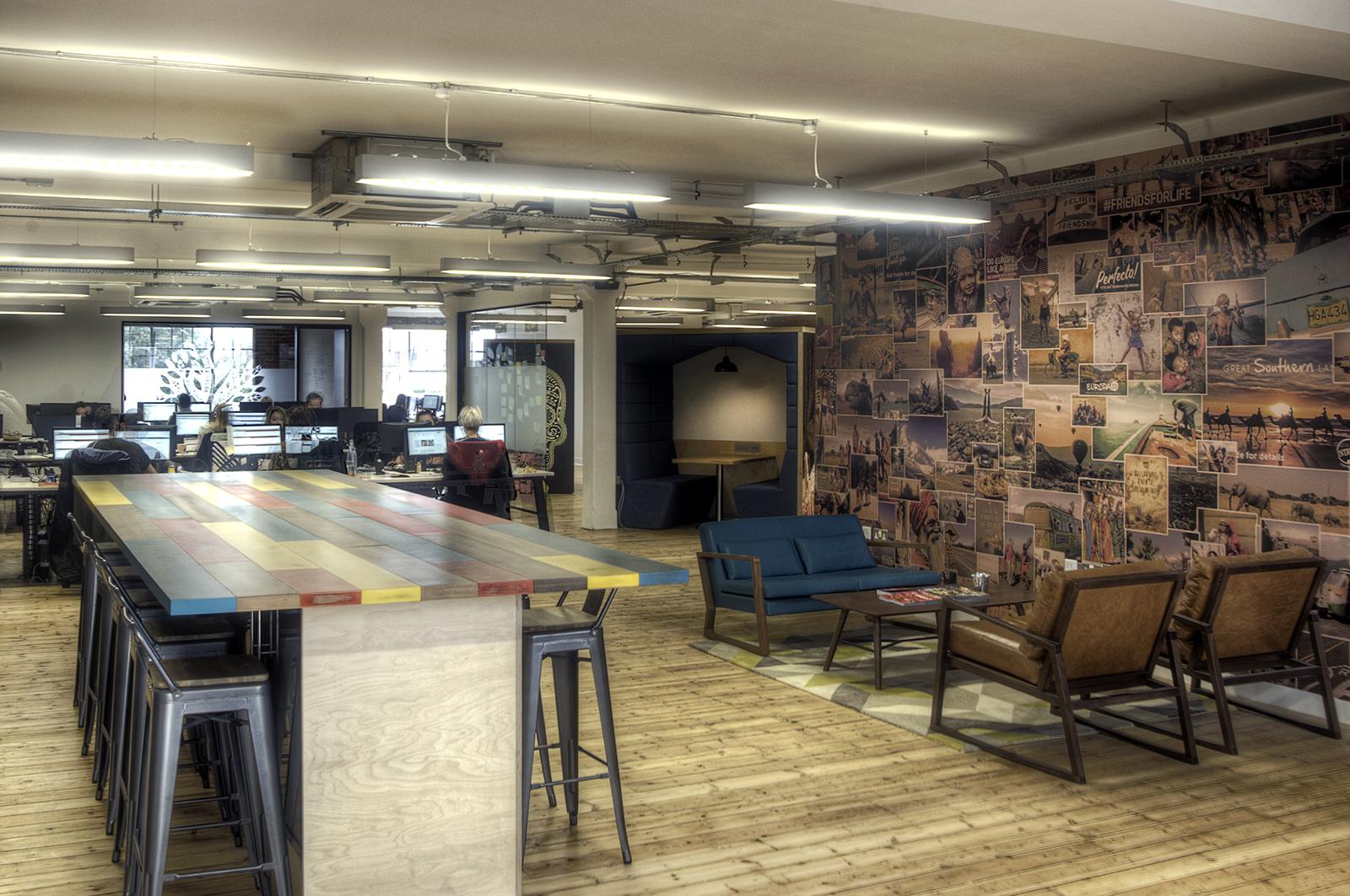 Inside Intrepid Travel's Cool London Office - Officelovin'