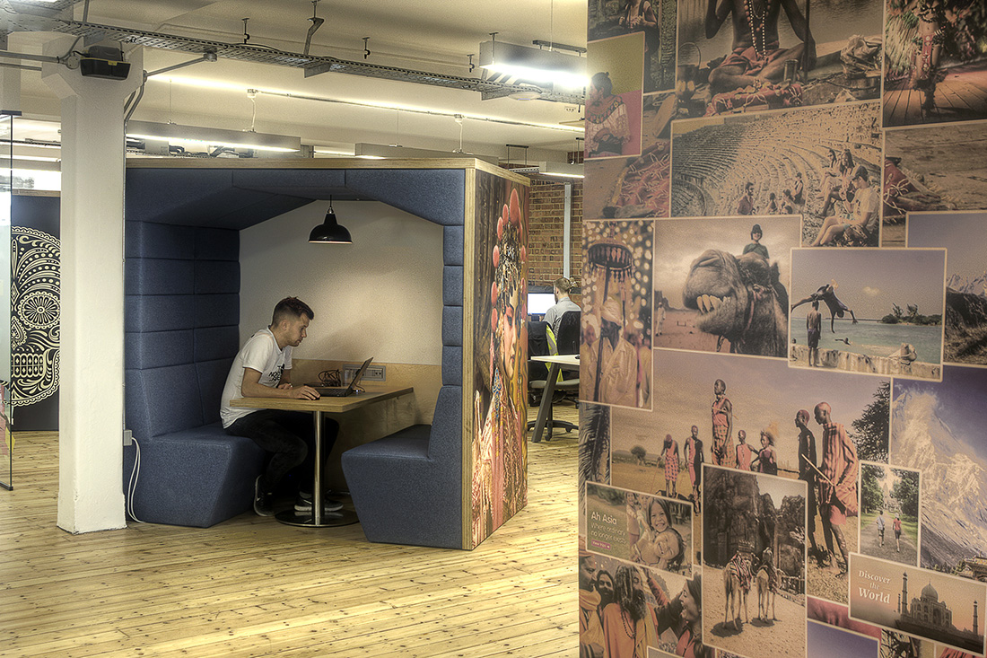 Inside Intrepid Travel's Cool London Office