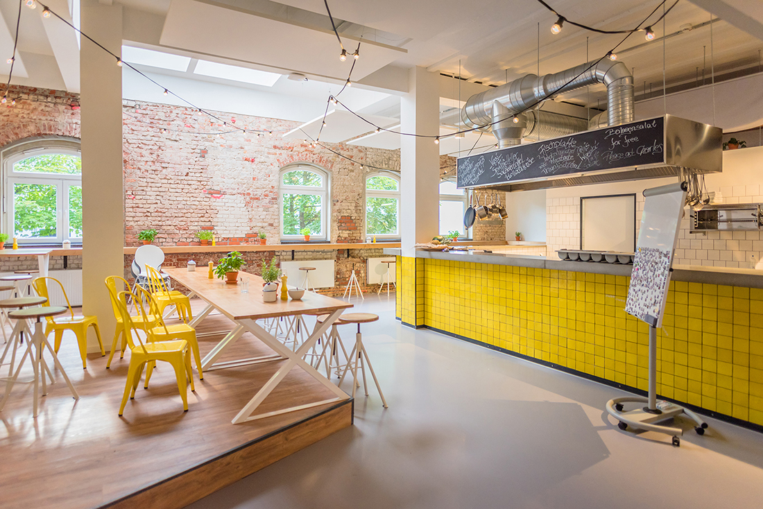A Tour of Jimdo's New Cool Hamburg Office