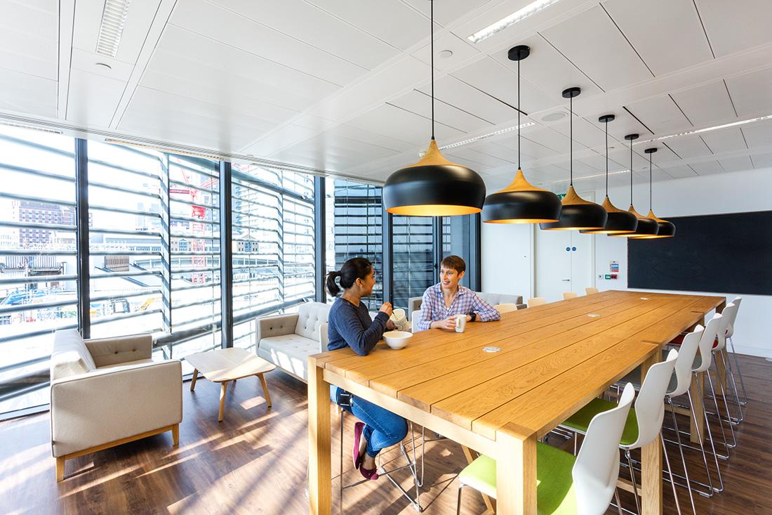 Inside TNS' New London Office