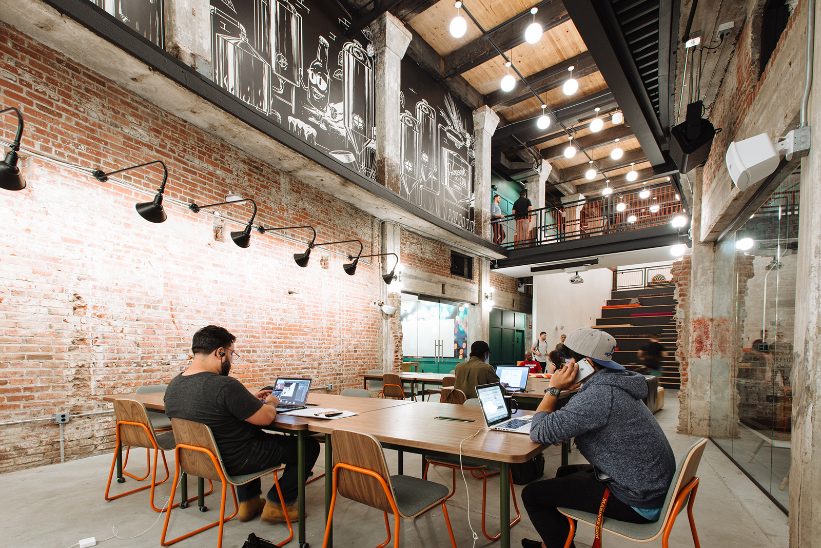 A Tour Of Wework S New Coworking Space In Philadelphia