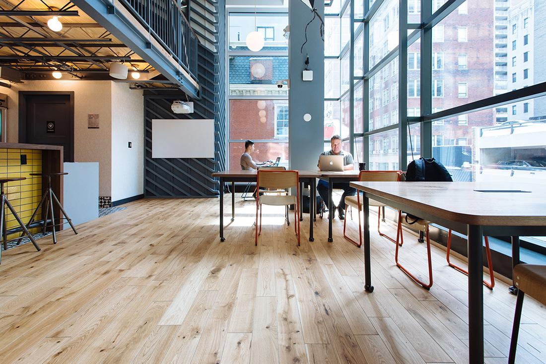 Inside WeWork – Walnut Street