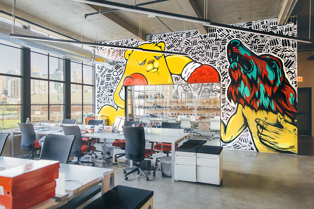 Inside Bucketfeet's New Chicago Headquarters