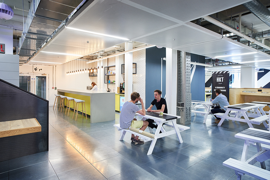 Inside Huckletree's New London Coworking Space