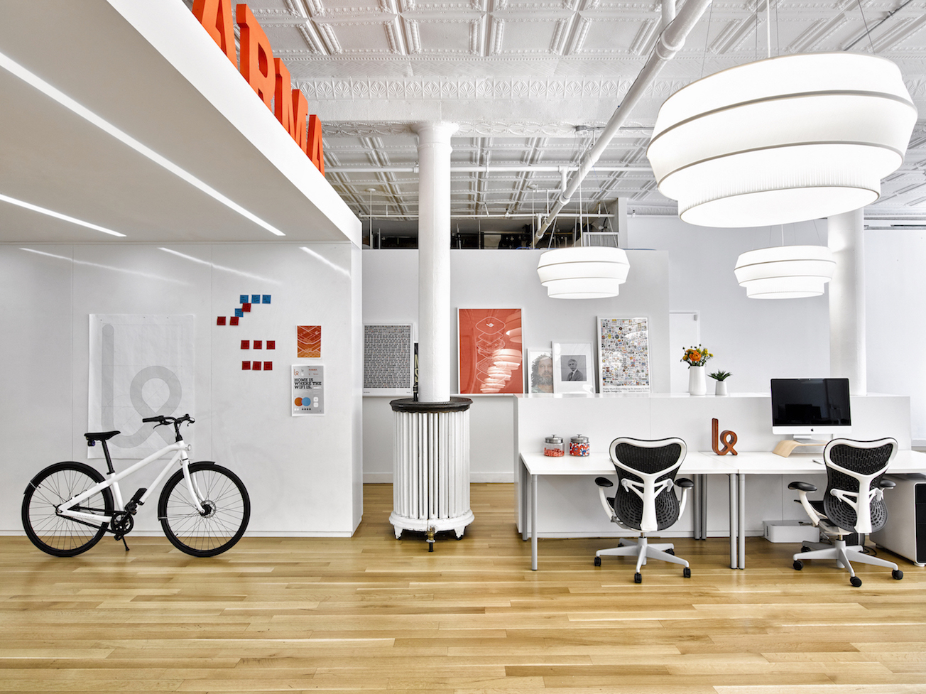 A tour of karma s modern nyc headquarters officelovin 39 for Karma home designs