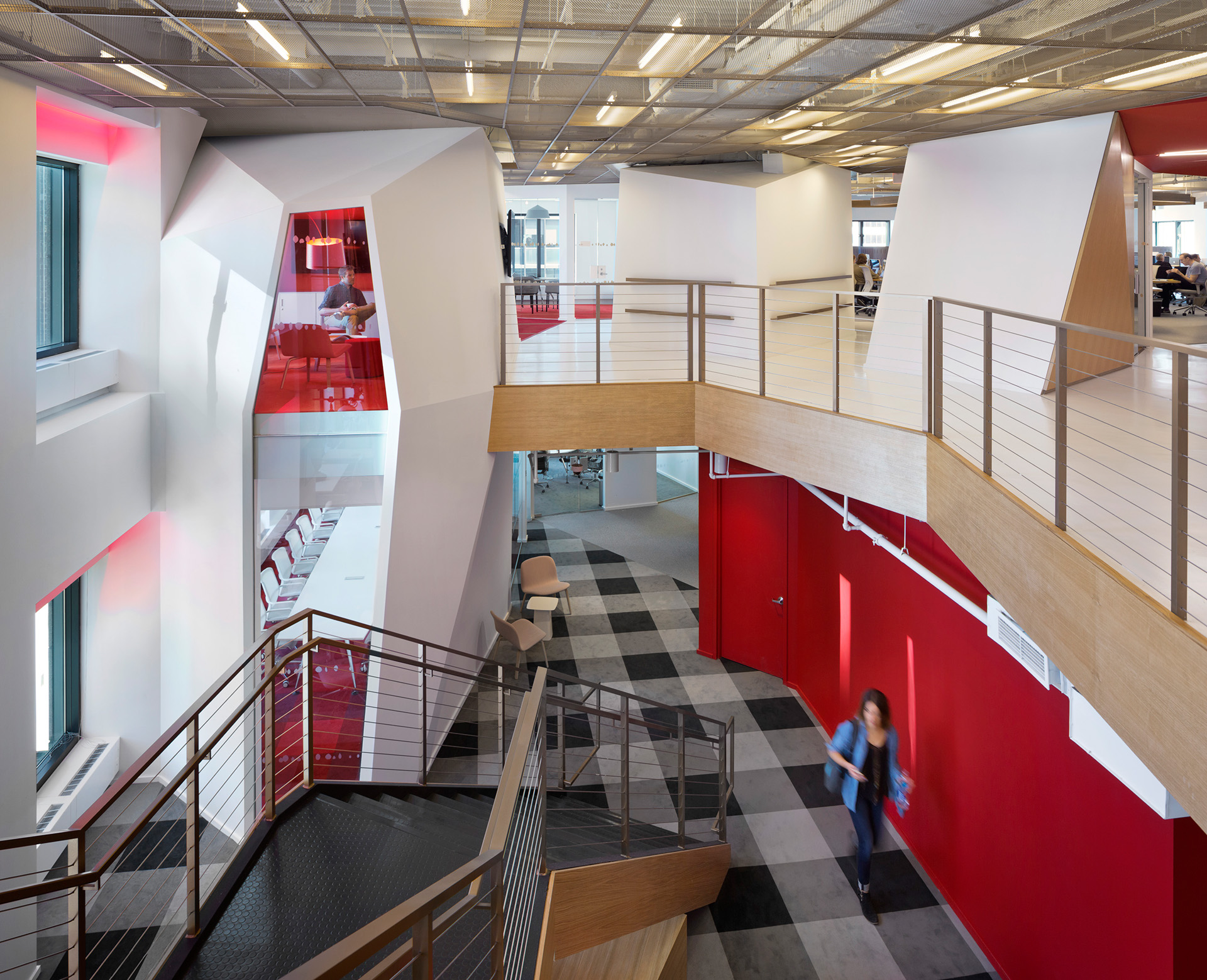 A look inside publicis new stylish nyc headquarters for Wilkerson builders