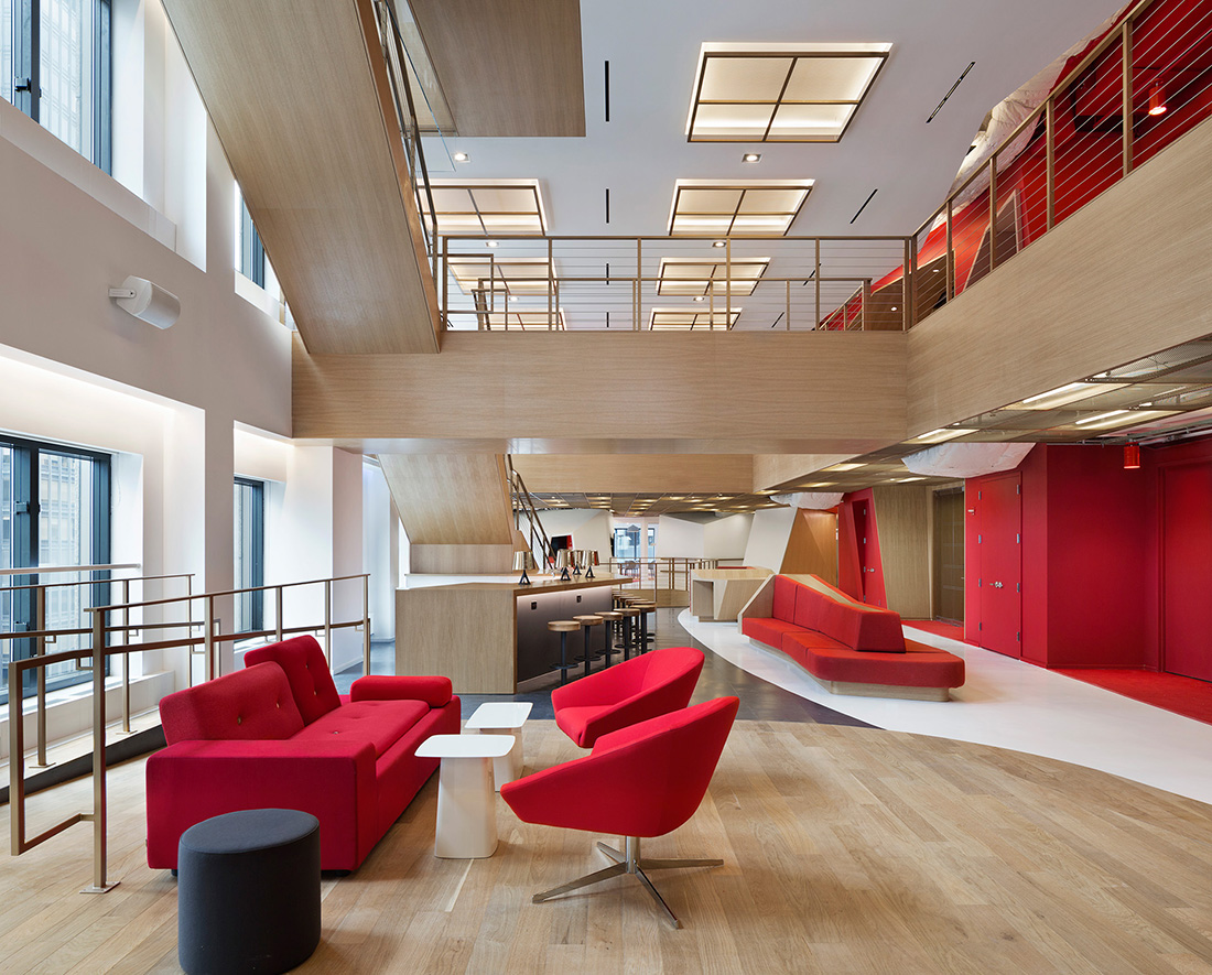 A Look Inside Publicis' New Stylish NYC Headquarters