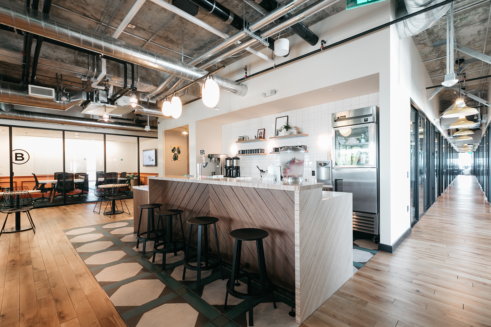A peek inside wework la brea officelovin 39 for Innovation firm los angeles