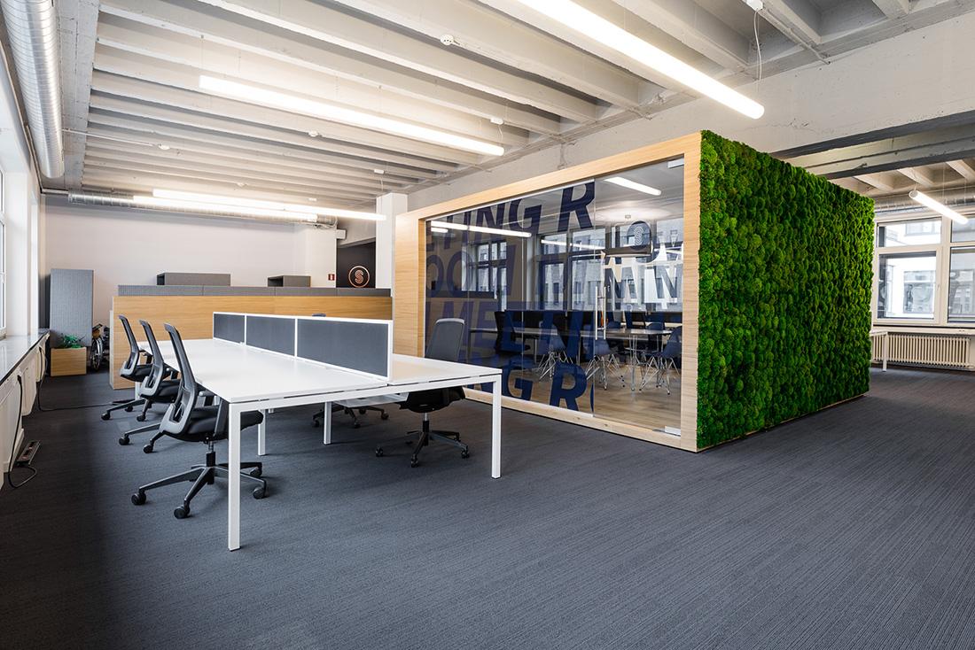 Inside SmartWork's Brussels Coworking Space