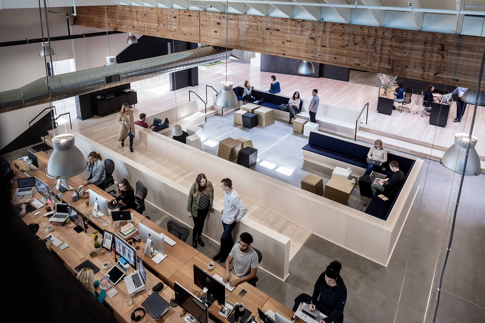 mezzanine office. Mezzanine Office