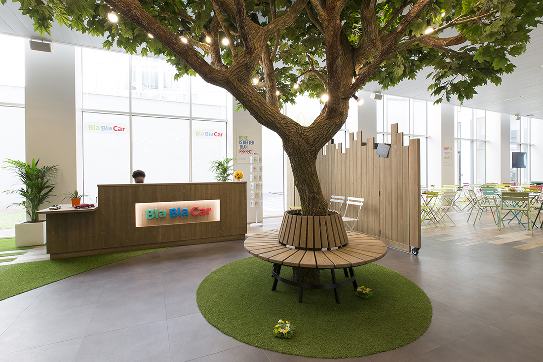 An Inside Look at BlaBlaCar's Stylish Paris Office