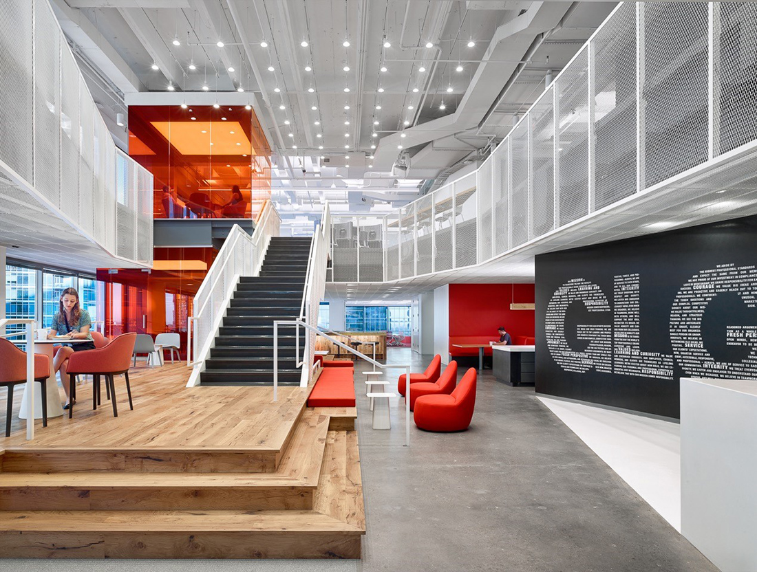 A Tour of GLG's Sleek Austin Office