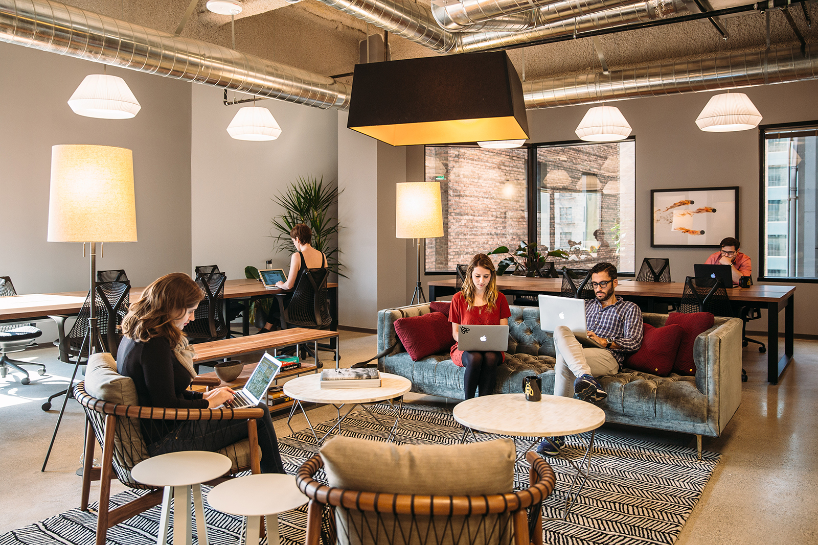 A Tour Of Industrious Los Angeles Coworking Space