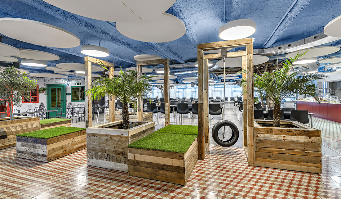 a look inside king s playful barcelona office officelovin