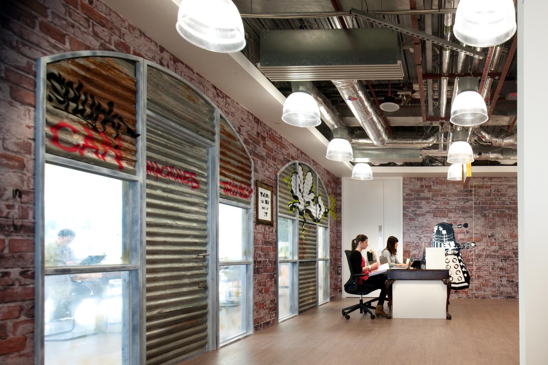 Inside Splunk S Cool London Office Officelovin