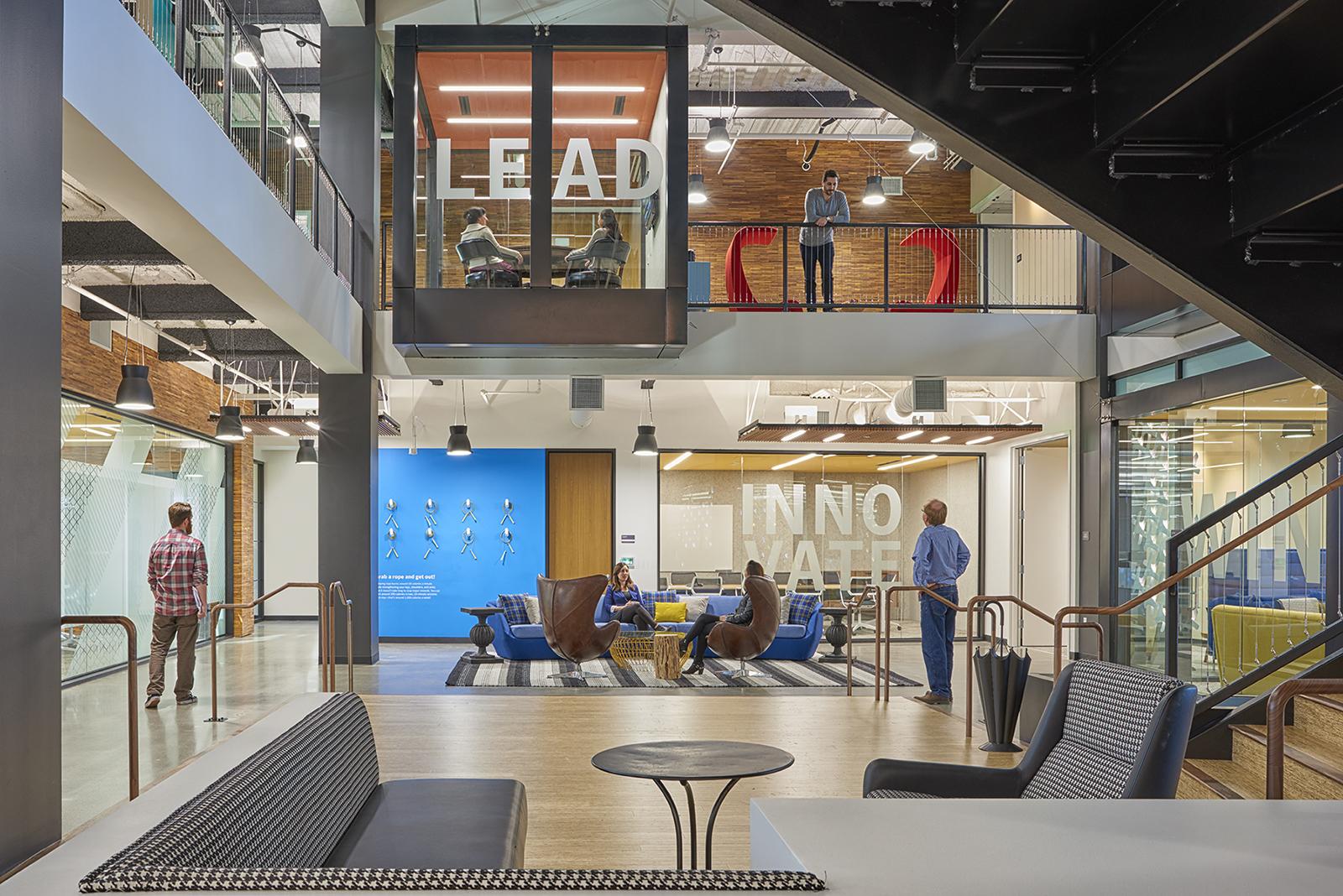 A tour of symantec s super cool mountain view office - Interior design license california ...