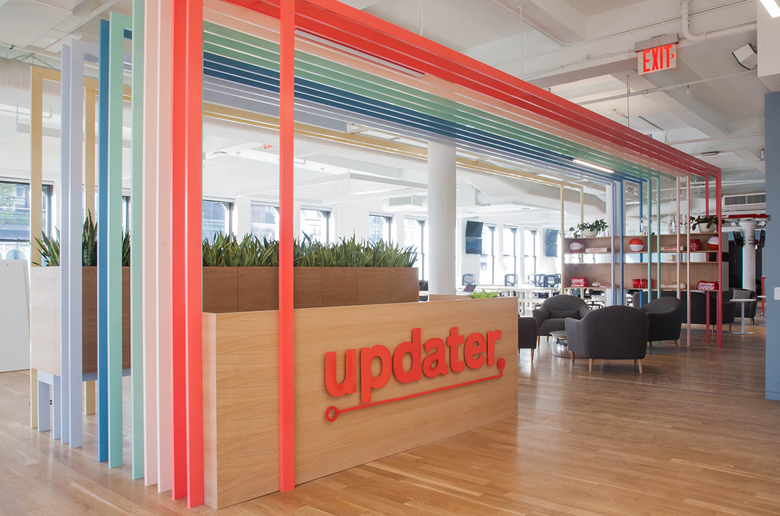 A Look Inside Updater's New NYC Headquarters