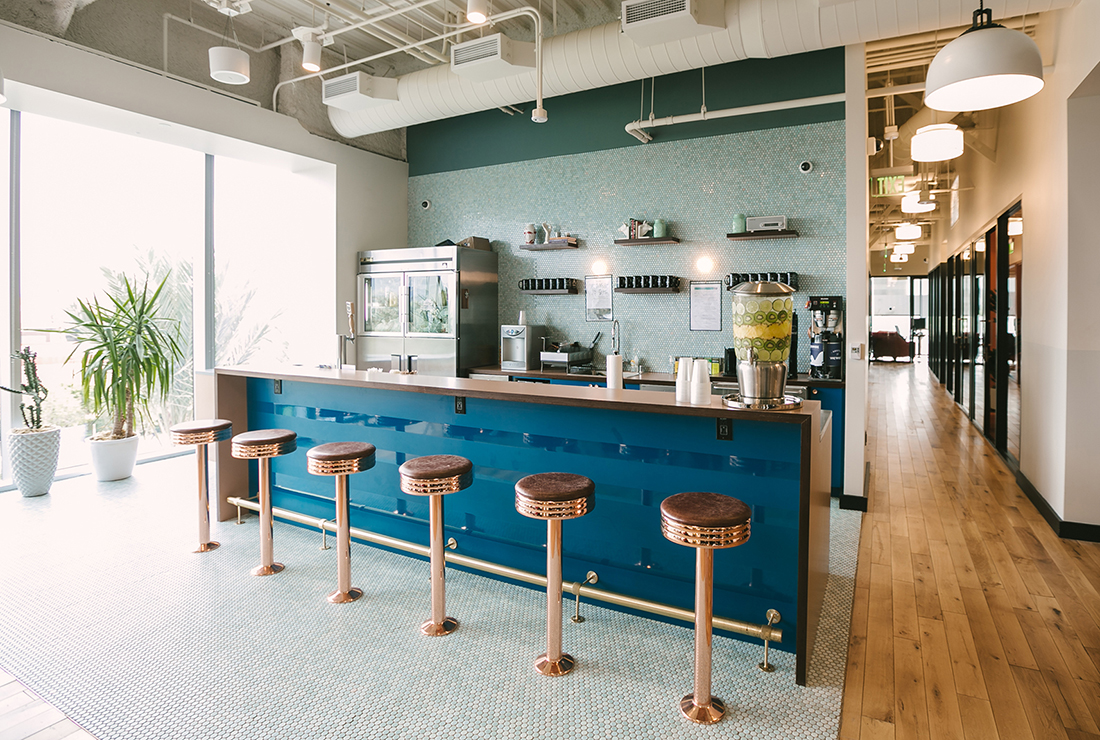 An Inside Look at WeWork's Coworking Campus in Irvine