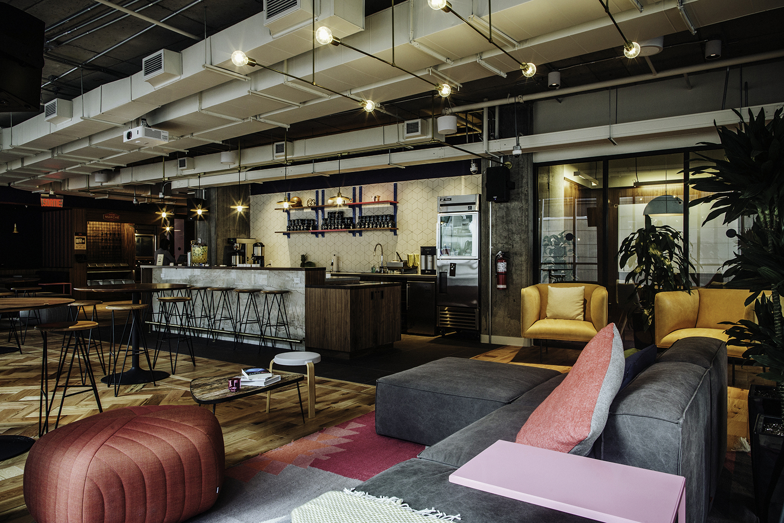 A Tour Of Wework S Montreal Coworking Space Officelovin