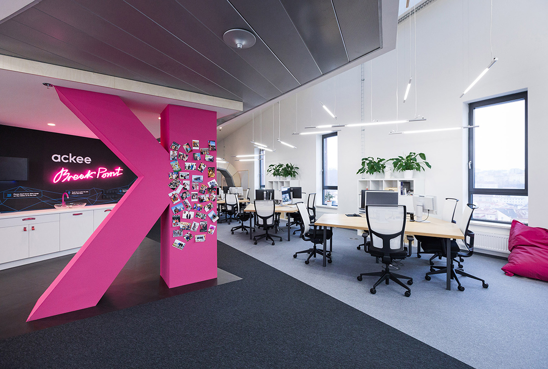 Inside Ackee's Cool New Prague Headquarters