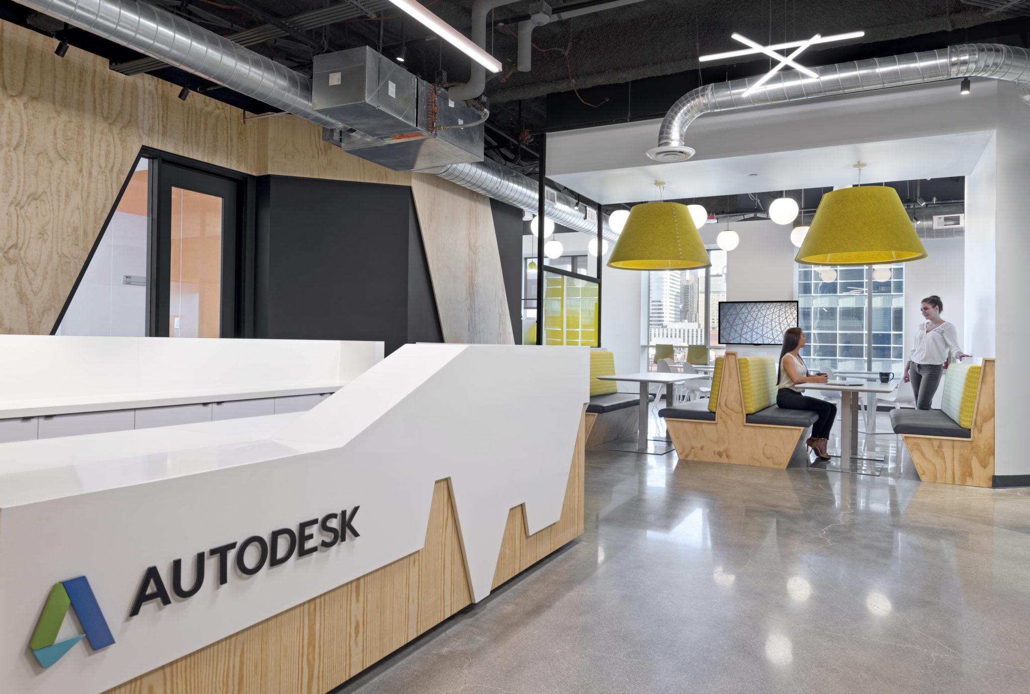A Peek Inside Autodesk Rsquo S New Denver Office Officelovin