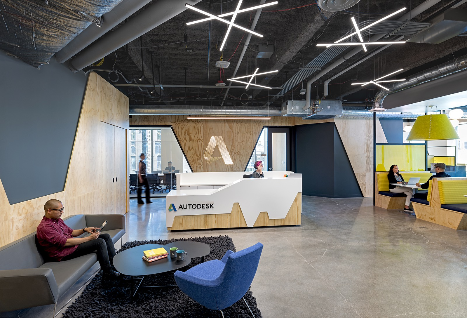 A Peek Inside Autodesk S New Denver Office Officelovin